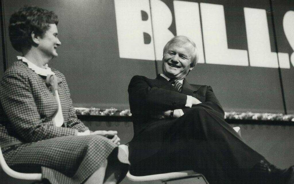 Bill Davis and wife Kathleen