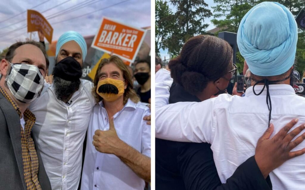 Singh in niagara