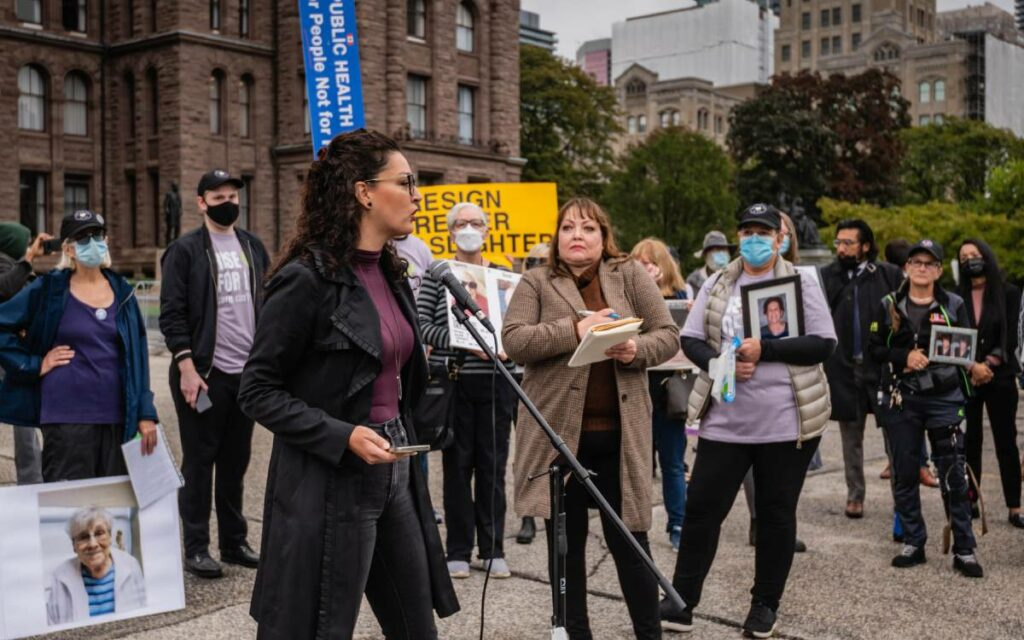 Ontario Health Collation outside of Queen's Park