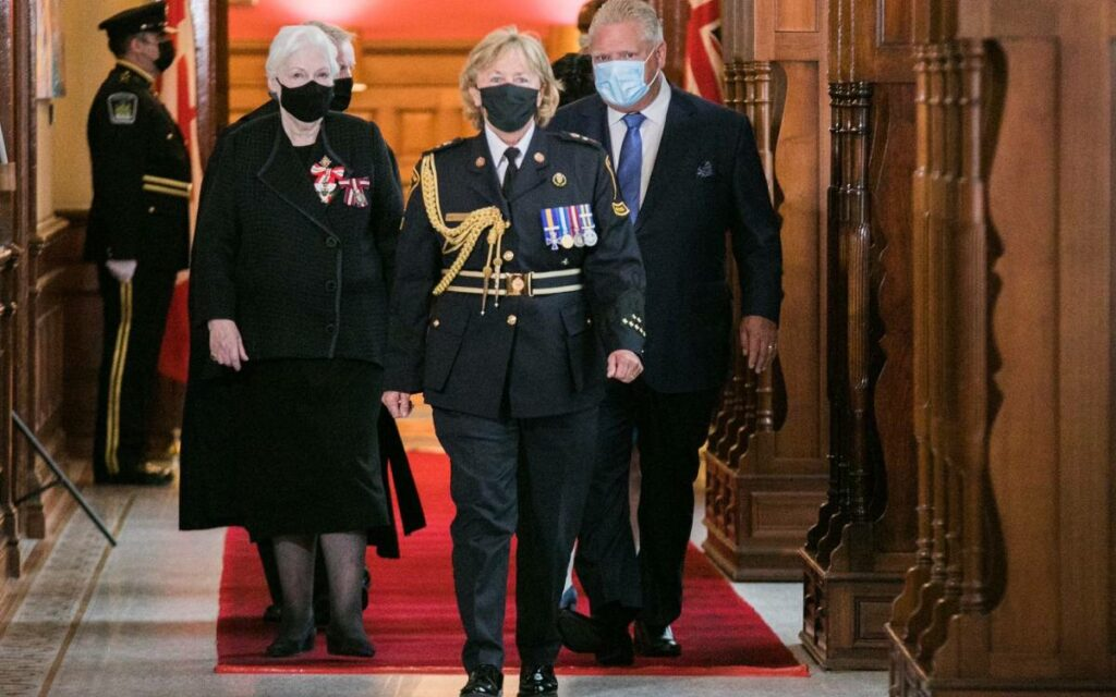 Premier Ford and Lieutenant Government