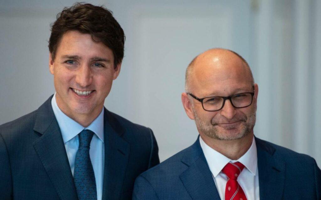 PM Trudeau and Lametti MP